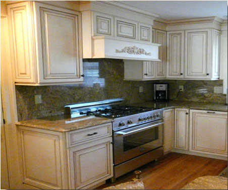 A love of entertaining required a kitchen remodel that sacrifices nothing from the client's former home, as with the six burner gas stove.